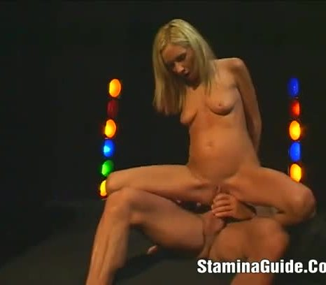 Hot blonde fucked in the ass and swallow