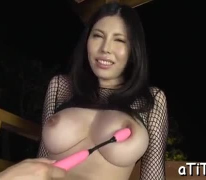 Blissful trio for breasty asian